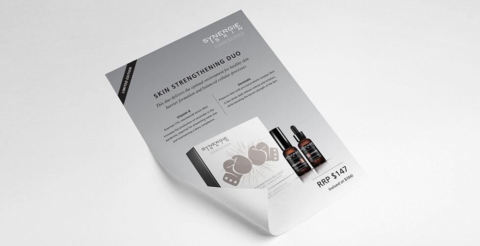 Dani Larosa Design - Synergie Skin - Skin Strengthening Duo Flyer
