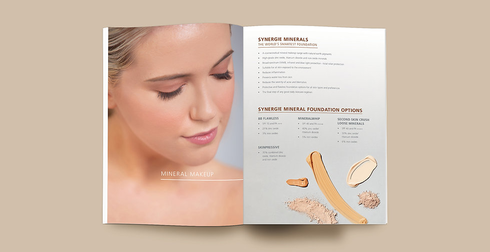 Dani Larosa Design - Synergie Skin - Product Knowledge Workbook