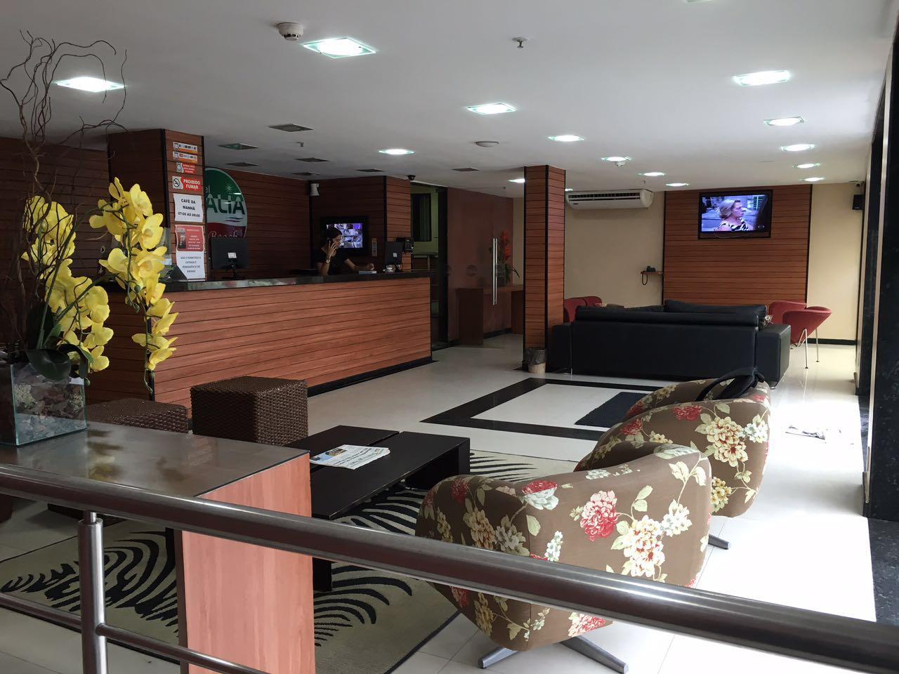 hotel italia recepcao