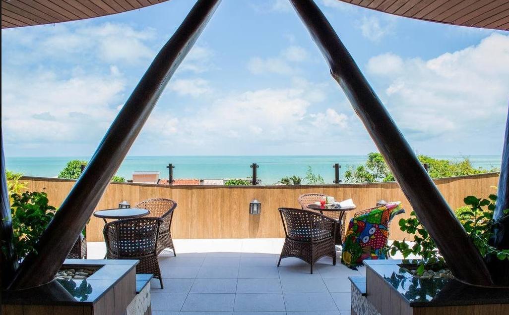 hotel dividivi vista praia frente