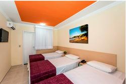 hotel areia de ouro quarto luxo familia