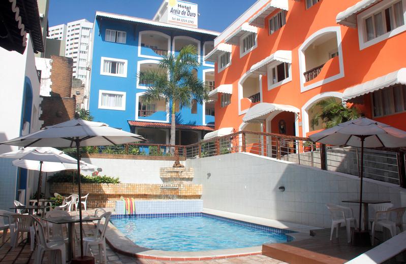 hotel areia de ouro  piscina