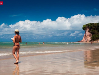 praia da pipa no sul de natal