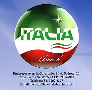 hotel italia beach em natal