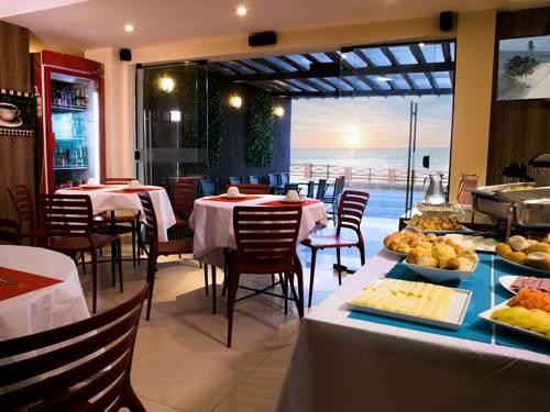 Vista do cafe beleza Beach