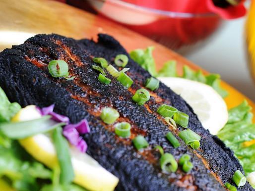 Blackened Salmon Sandwich Recipe