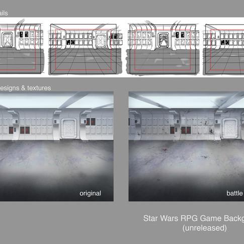 Star Wars Blockade Runner Hall