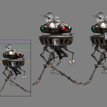 Modified Battle Probe Droid