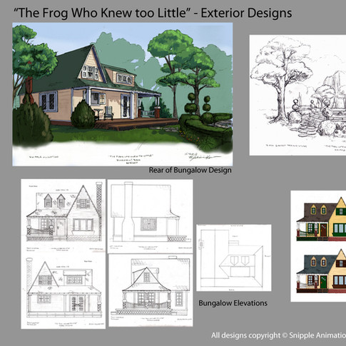 Exterior Set w/ Elevations