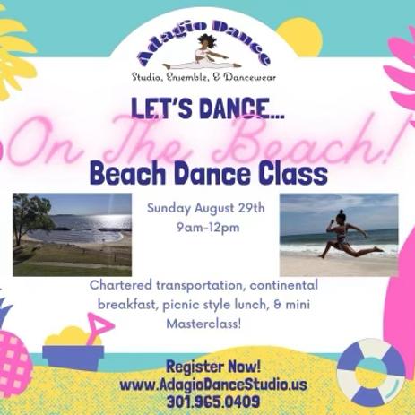 Let's Dance… On The Beach!