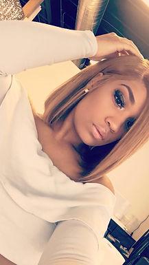 Sweet Like Honey Blunt Cut Wig