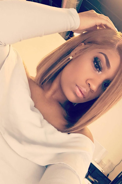 Sweet Like Honey Blunt Cut Wig