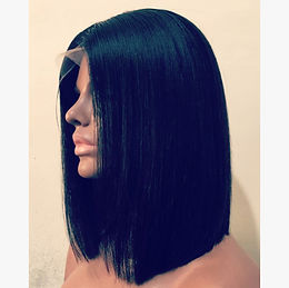 American Straight Middle Part* Bob Full LaceWig