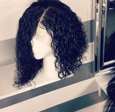 Miami Deep Curly Bob Full Lace Wig