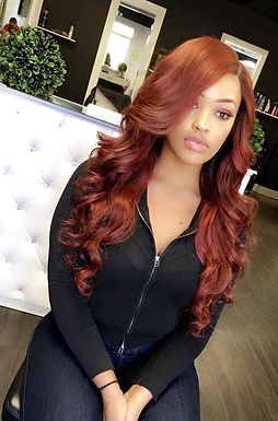 Auburn Full Lace Wig