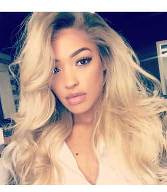 Hollywood Blonde Wig Full Lace Wig
