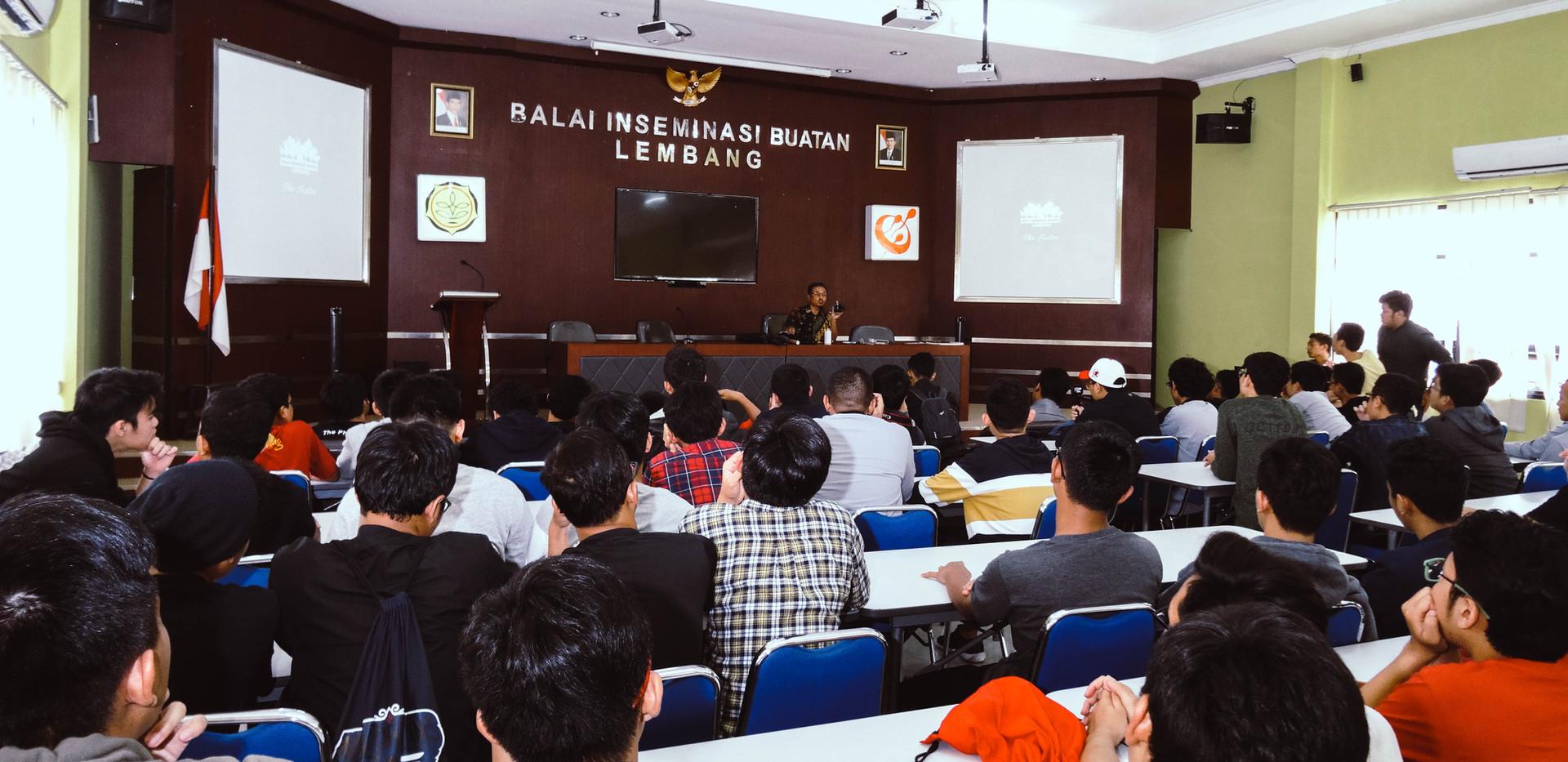Outing to Balai Inseminasi Buatan Lembang