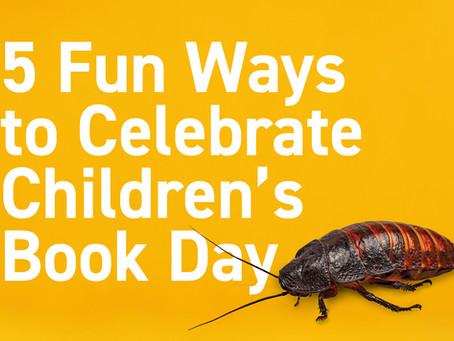 5 Fun Ways to Celebrate Children's Book Day