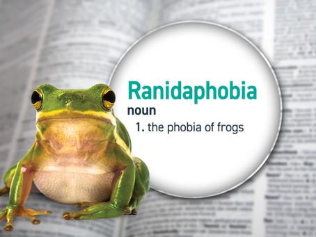 Not So Scary Animals: Ranidaphobia