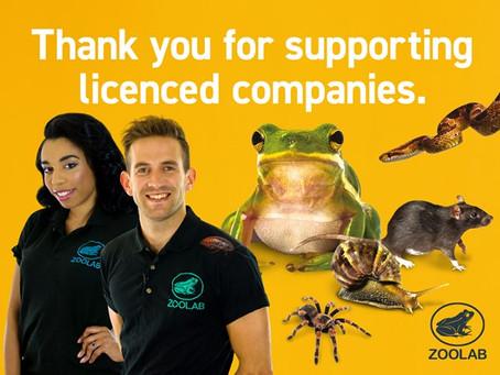 ZooLab's Customers Put Animal Welfare First!