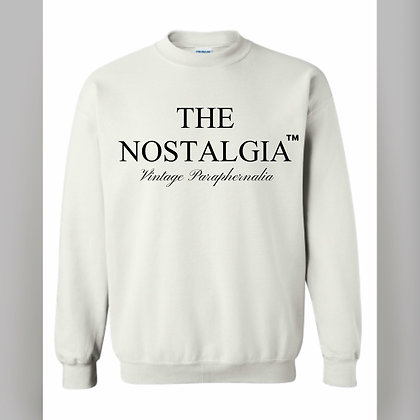 The Nostalgia Chenille Crew Neck