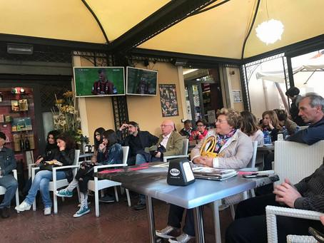 Roberto Mistretta al Gioiosa Book Festival con Gordiano Lupi, Andrea Franco Vincenzo Maimone e altri