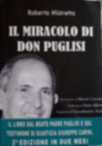 Libro di Roberto Mistretta Il miracolo di don PUglis