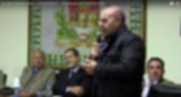 Roberto Mistretta con Nello Musumeci a Sutera