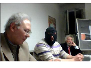Roberto Mistretta con Giuseppe Carini e Franco Castello