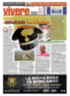 Servizio su Vivere La Sicilia di Giovnna Caggeci sul romanzo Il maresciallo Bonanno