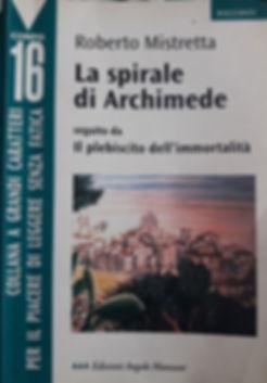Libro di Roberto Mistretta La spirale di Archimede