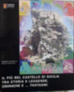 Libro di Roberro Mistretta cul castello di Mussomeli