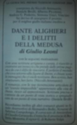 Roberto Mistretta finalita Giallo Mondadori