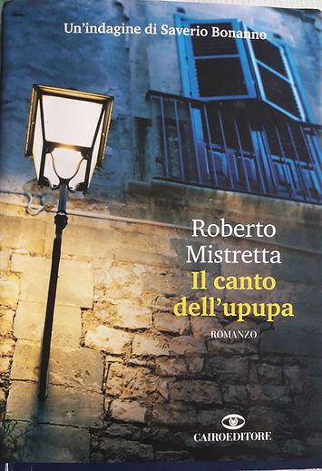 Il canto dell'upupa romanzo di Roberto Mistretta