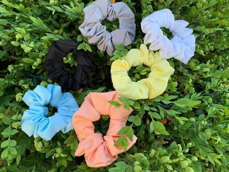Scrunchies for Vanda