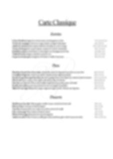 Carte Calssique Janvier - Mars 2020-page