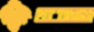logo per macchine fit times giallo ocra.