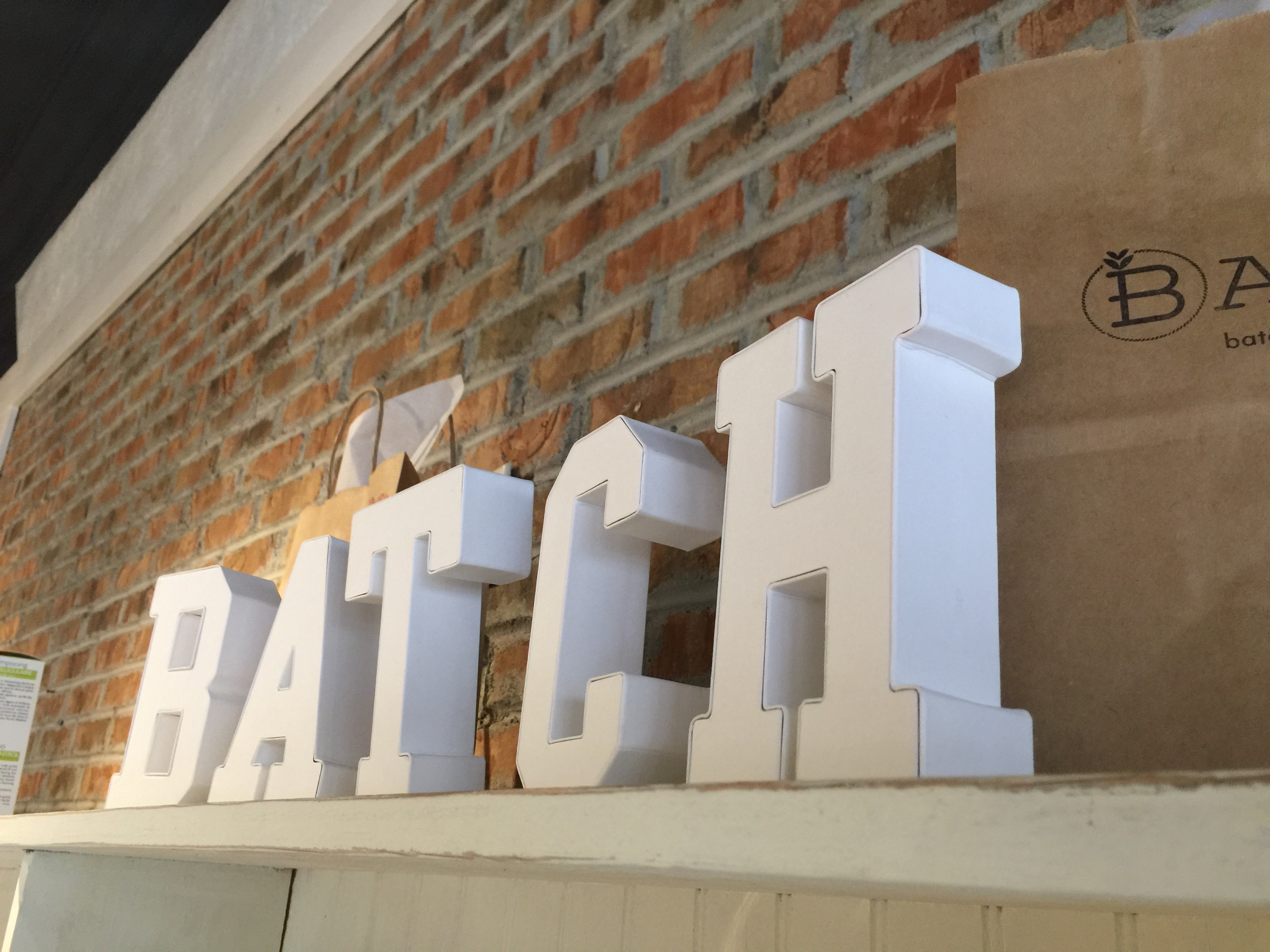 BATCH Wholesale Display
