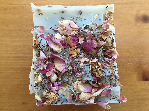 5 oz ARTISAN Roses/Patchouli/Mint soap bars