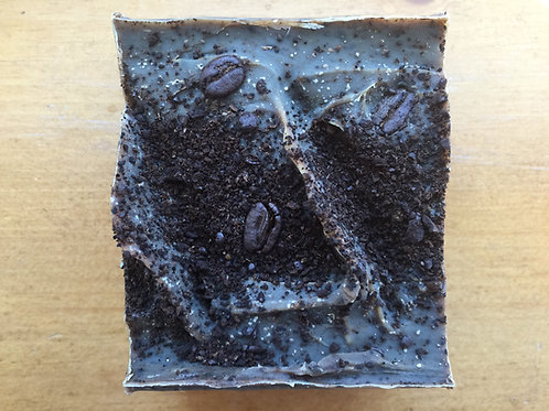 5 oz ARTISAN Coffee/Clove with peppermint soap bars