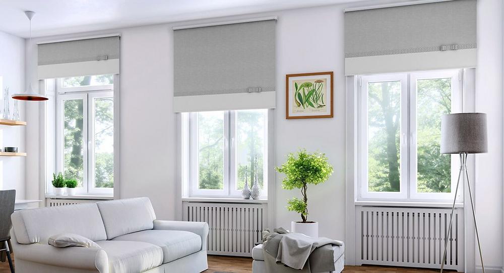 Janelas PVC numa sala de estar - Projanelas