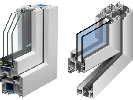 Janelas em PVC ou em Alumínio de corte térmico?