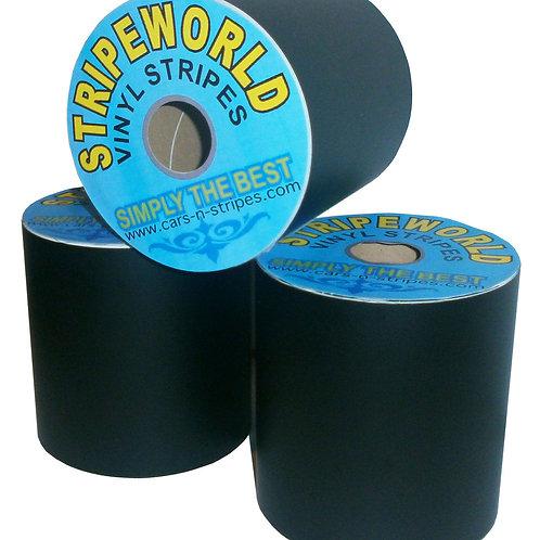 Matt Black Vinyl Stripe