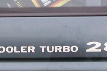 Pair Intercooler Turbo 2800 Decals