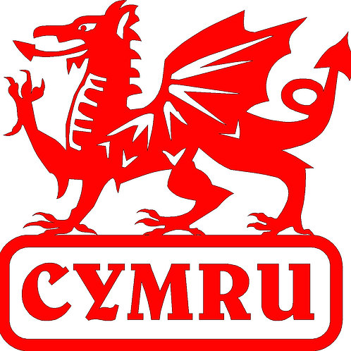 Welsh Dragon Decal