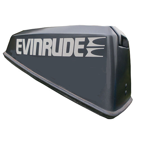 Pair Evinrude Motor Cover Decals