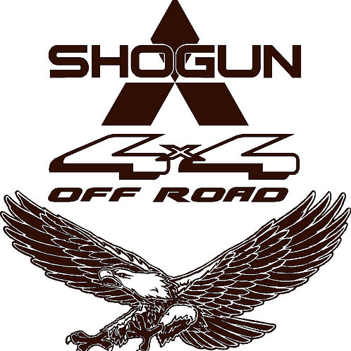 Shogun Eagle Wheelcover Decal