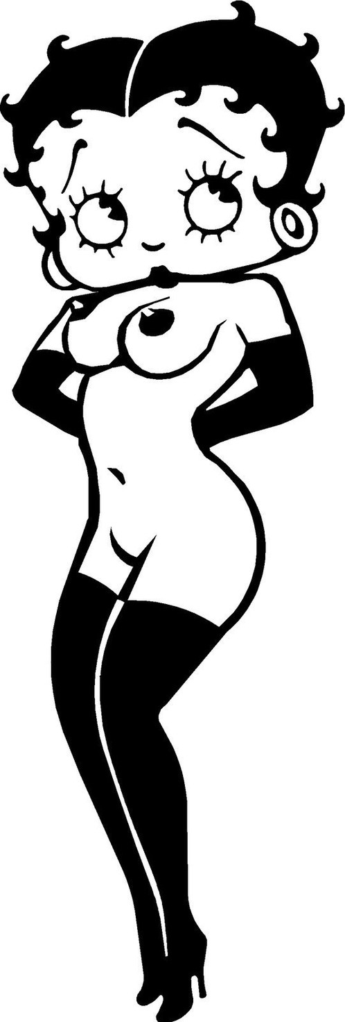 Betty boop nude images
