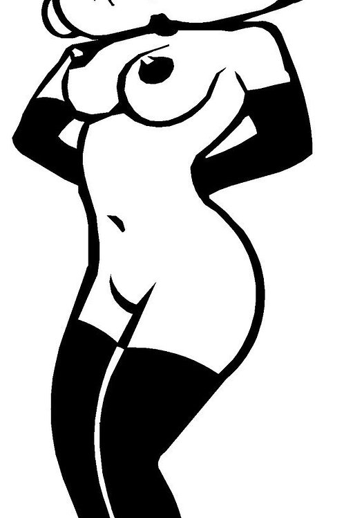 Betty Boop Nude