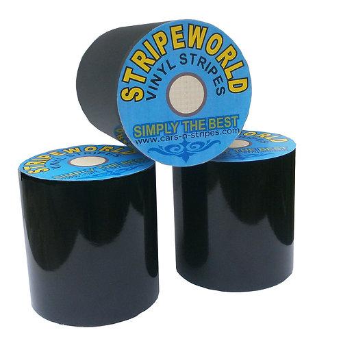 Black Vinyl Stripe